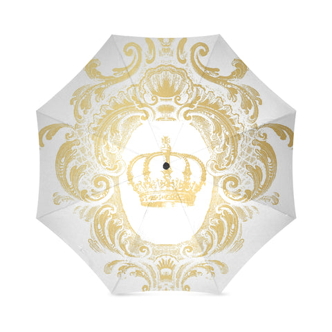 Gold Crown - White Umbrella