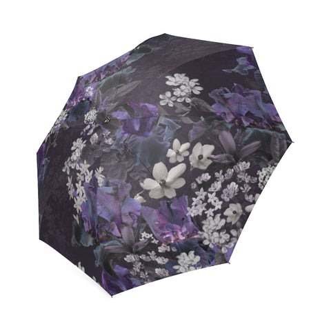 Lalia Dark Floral Umbrella