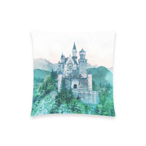 Forest Castle Pillow Case