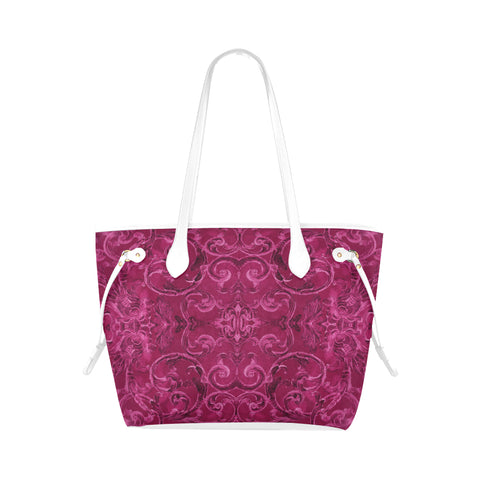 Antique Thai Pattern Pink Shoulder Bag