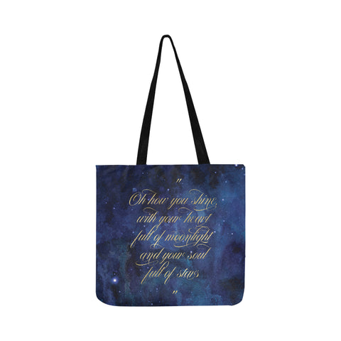 """Oh How You Shine"" Tote Bag"