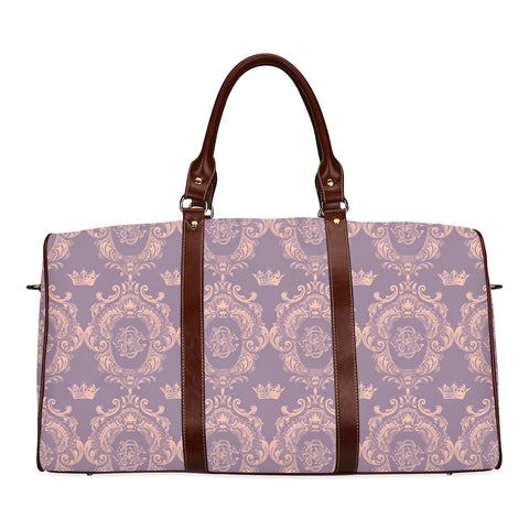 Lavender Pink Castlefield Pattern Travel Bags