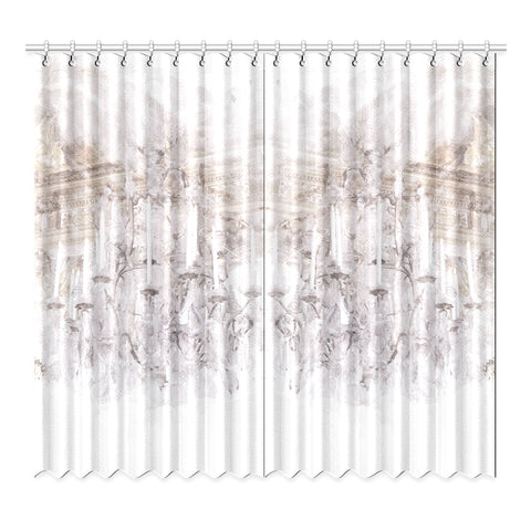 Palace Chandelier Window Curtain