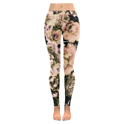 Bold Floral Leggings