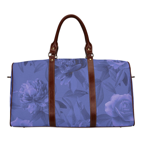 Blue Roses Travel Bags