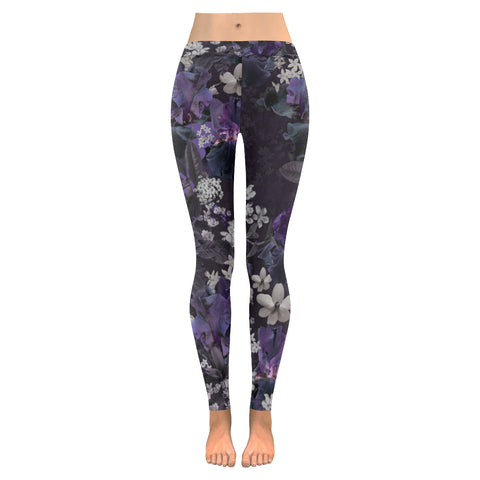 Lalia Dark Floral Leggings
