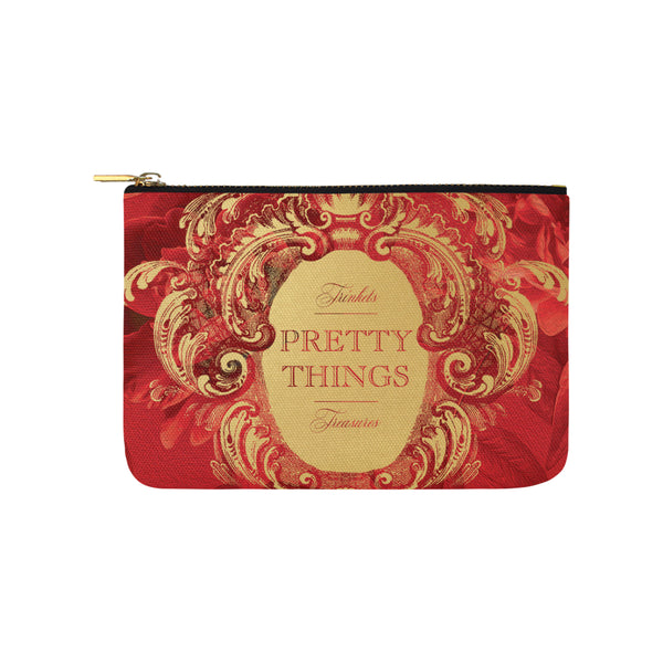 Pretty Things Red Clutch