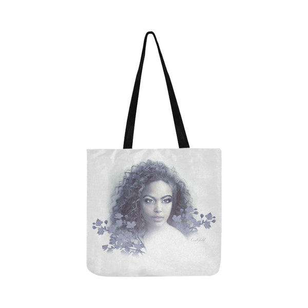 Blue Aria Tote Bag