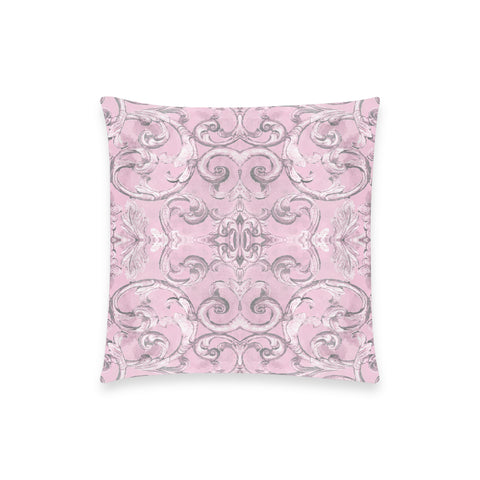 Antique Thai Pattern Lilac Pillow Case