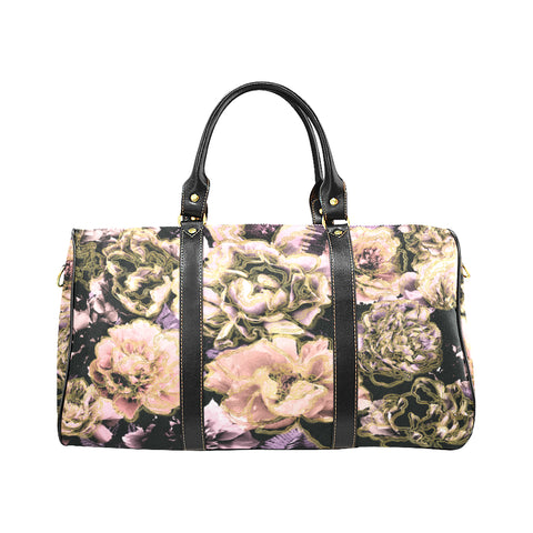 Bold Floral Travel Bags