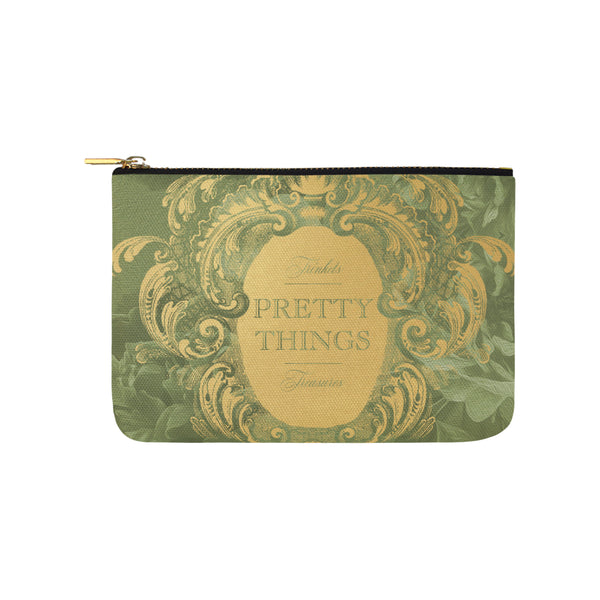 Pretty Things Green Clutch