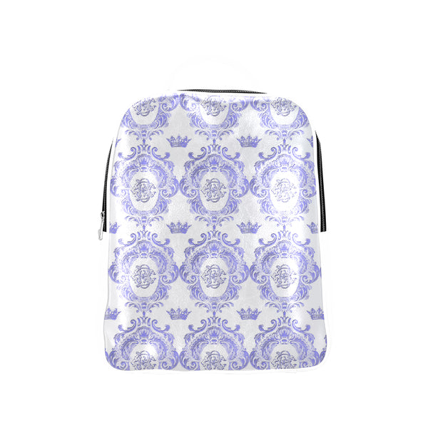 Blue Castlefield Pattern Backpack