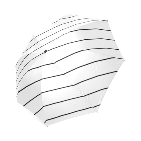 Black Stripes on White Umbrella