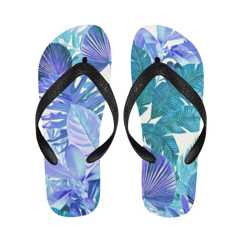 Cool Tropical Flip Flops