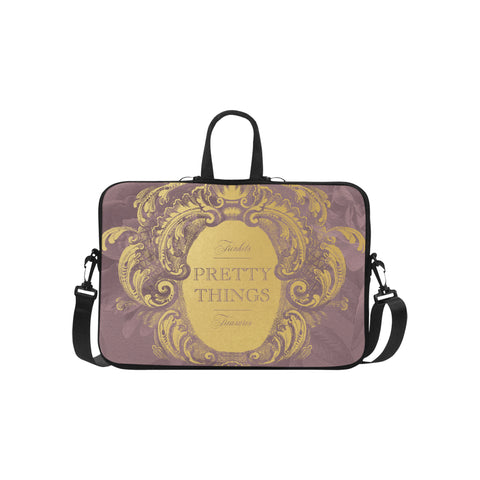 Pretty Things Mauve Laptop Bag 15.6""