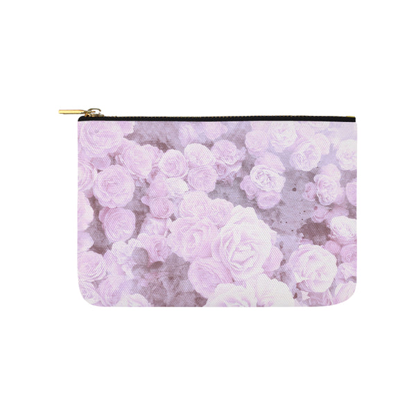 Lilac Watercolor Floral Clutch