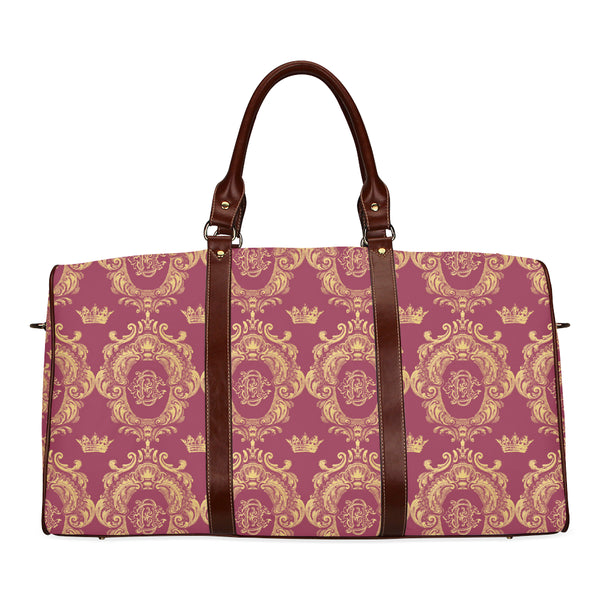 Ruby Red Castlefield Pattern Travel Bags