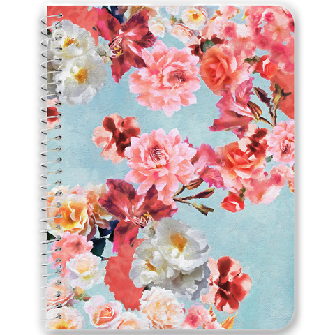Sunny Floral Notebooks & Journals - 2 Color Options