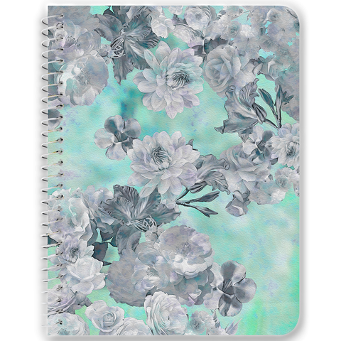 Neon Floral Notebooks & Journals - 2 Color Options