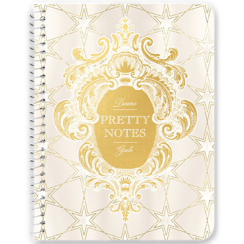 Pretty Notes Celestial Star Grid Notebooks & Journals