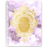 Pretty Notes Lilac Watercolor Floral Notebooks & Journals