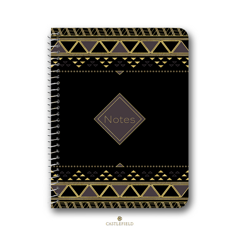 African Pattern Notebooks & Journals - 3 Design Options