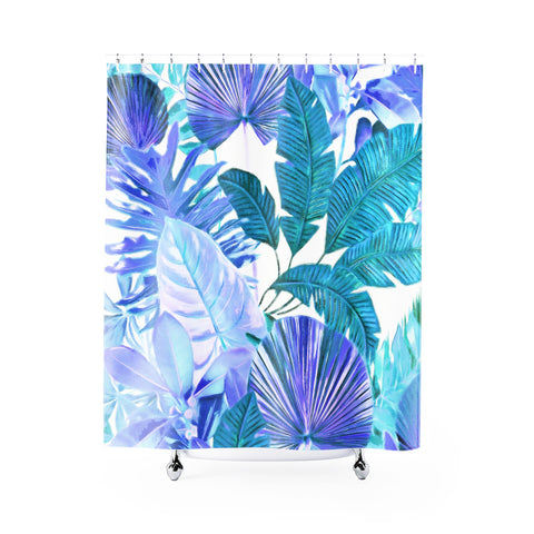 Cool Tropical Shower Curtain