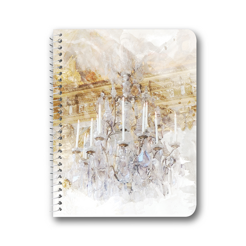 Palace Chandelier Gold Notebooks & Journals