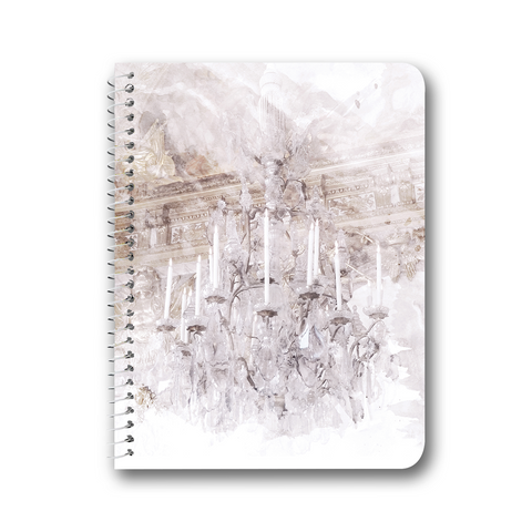 Palace Chandelier Lavender Notebooks & Journals