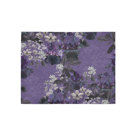 Lalia Lilac Floral Rug