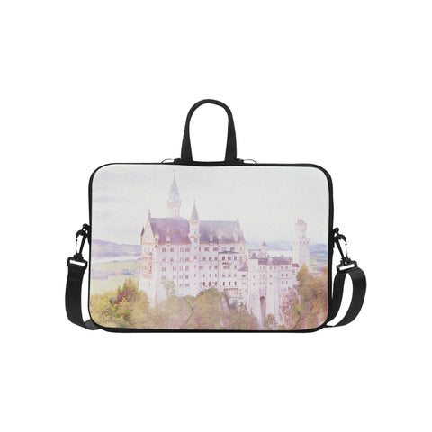 Neuschwanstein Castle Laptop Bag 15.6""