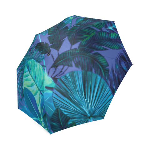Dark Cool Tropical Umbrella