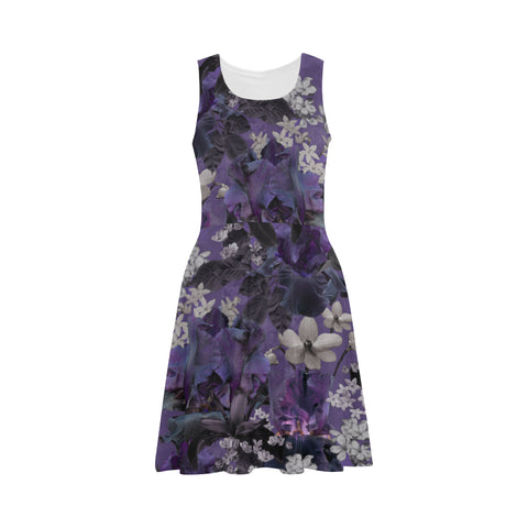 Lalia Lilac Fit and Flare Dress