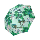 Blue Tropical Bramble Umbrella
