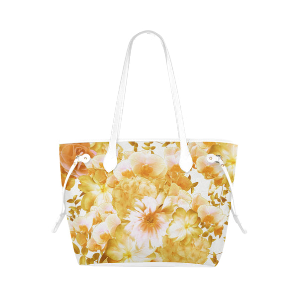 Yellow Romantic Floral Shoulder Bag