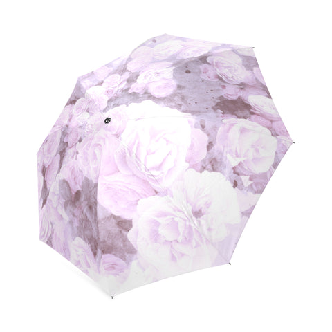 Lilace Watercolor Floral Umbrella