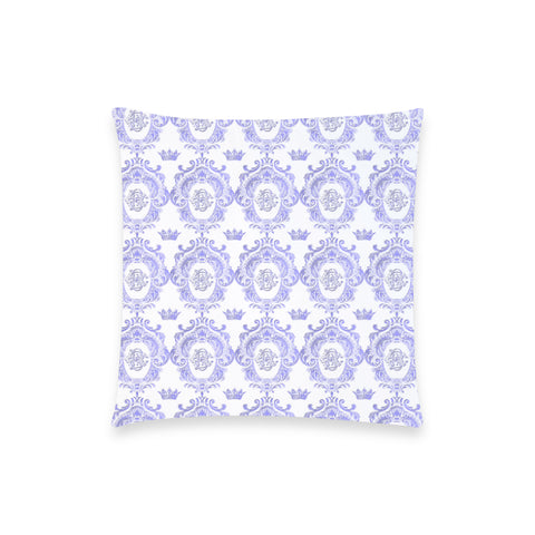 Blue Castlefield Pattern Pillow Case