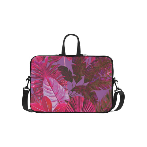 Dark Warm Tropical Laptop Bag 15.6""
