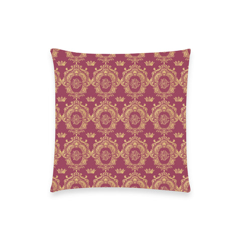 Ruby Red Castlefield Pattern Pillow Case