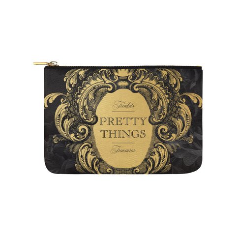 Pretty Things Black Clutch
