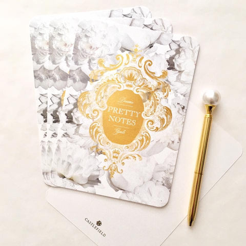 Pretty Notes Pearl Card Sets - 15 Color Options