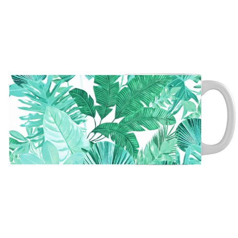 Green Tropical Mug