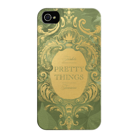 Green Pretty Things iPhone Cases