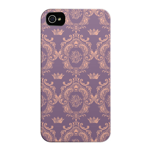 Lavender Pink Castlefield Pattern iPhone Cases