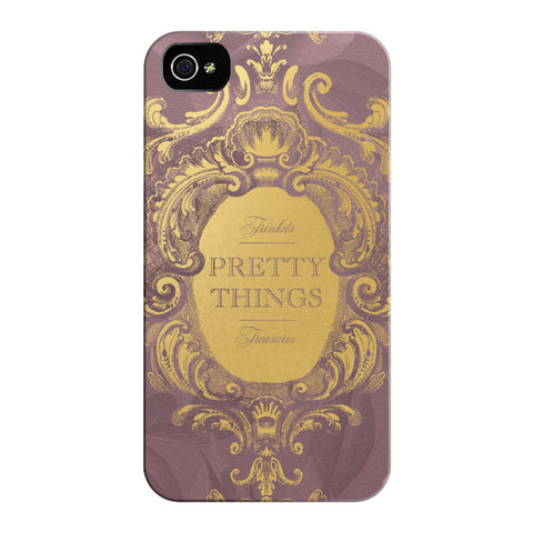 Mauve Pretty Things iPhone Cases