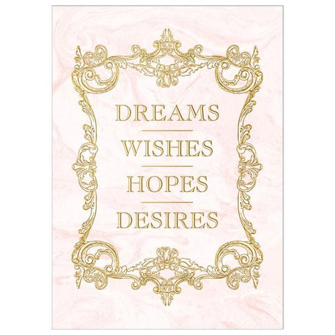 Dreams Wishes Hopes Desires Card Sets - 2 Color Options