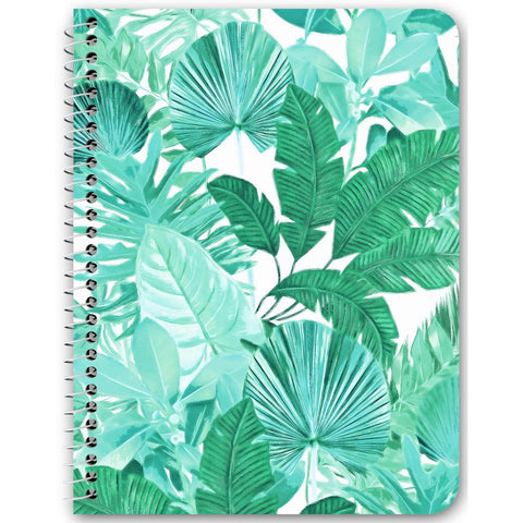 Tropical Leaf Notebooks & Journals - 6 Color Options