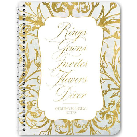 Wedding Planning Notes Notebooks & Journals