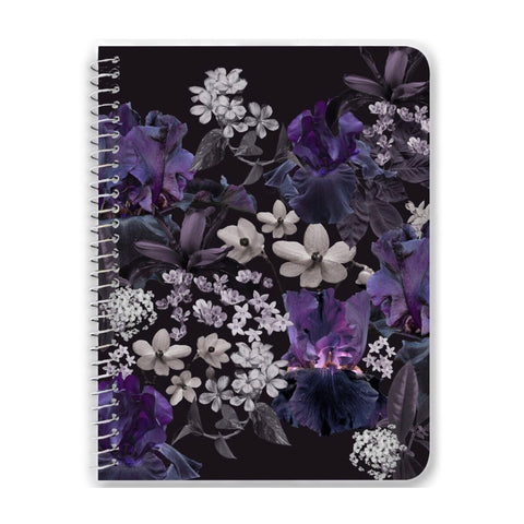 Lalia Dark Floral Notebooks & Journals