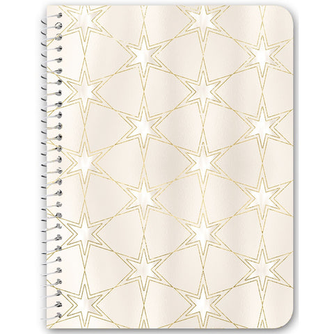 Celestial Pearl Pattern Notebooks & Journals - 3 Design Options